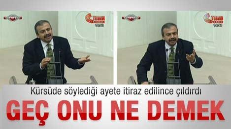 AK Parti'den gelen itiraz Sırrı Süreyya'yı kızdırdı