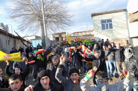 PKK'li Mevlüt Acar toprağa verildi.