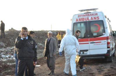 Diyarbakır'da Boş Arizede Erkek Cesedi