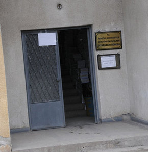 Hırsızlar Diyarbakır'da ki resmi kurumları istila etti
