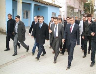 AK Parti İl Başkanı Advan Bismil'de İncelemelerde Bulundu