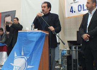 AK Parti Bismil İlçe Kongresi Yapıldı