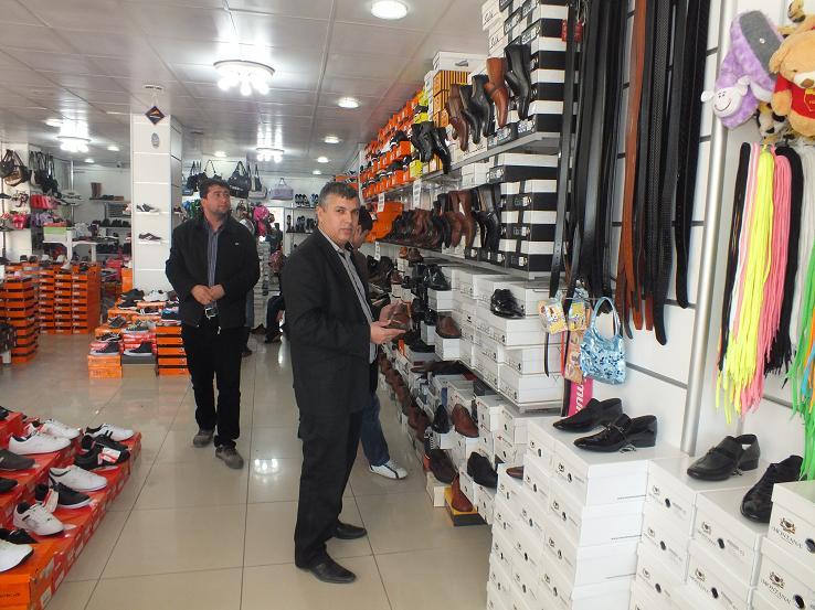 Bismil'de Depar Ayakkabı hizmete girdi