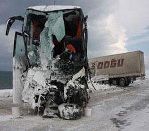 Bitlis'te korkunç kaza!