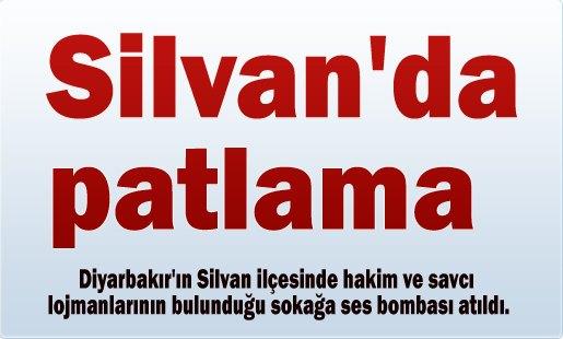 Silvan'da patlama