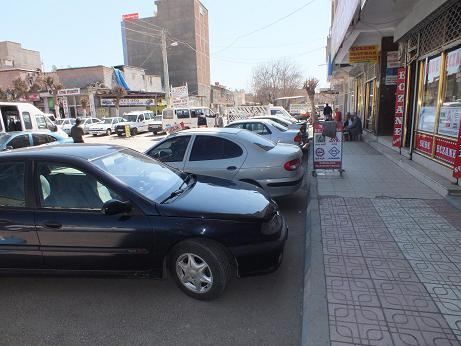 Bismil'de ikinci el otomobilde bahar havası