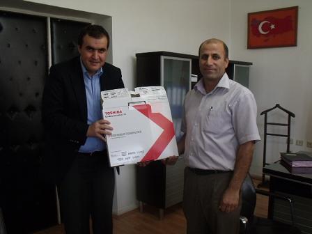 Bismil'de Eğitim Kalitesi Ödüllendirildi