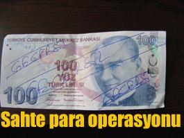 11 adet 100TL'lik sahte para yakalandı
