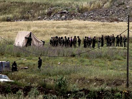 Türkiye-Suriye sınırında çatışma çıktı
