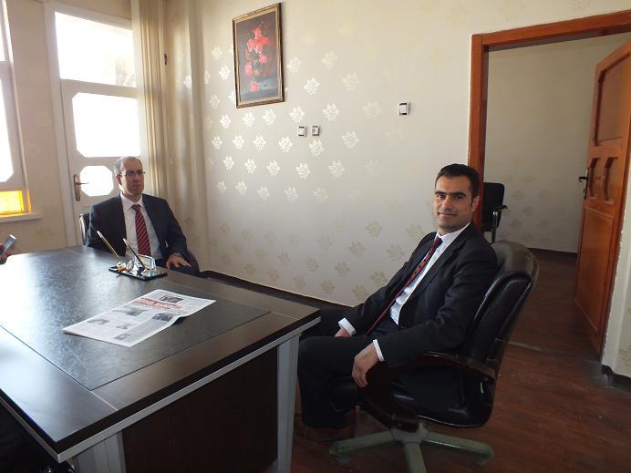 İstanbul Ziraat Bankası leasing Müdür Yardımcıları Gazetemizi Ziyaret etti.