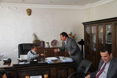 Bismil Belediyesine 23 Nisan Ziyaretti