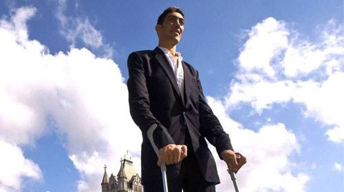 Dünyanın En Uzun Adamı Sultan Bismil'de