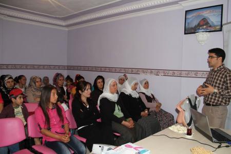 Bismil'de sağlık semineri