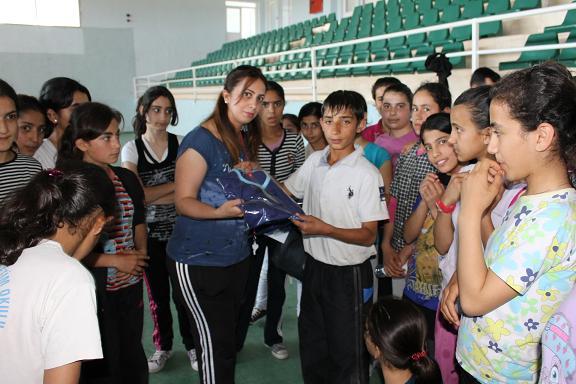 Bismil'de Yaz Spor okullarına Büyük ilgi
