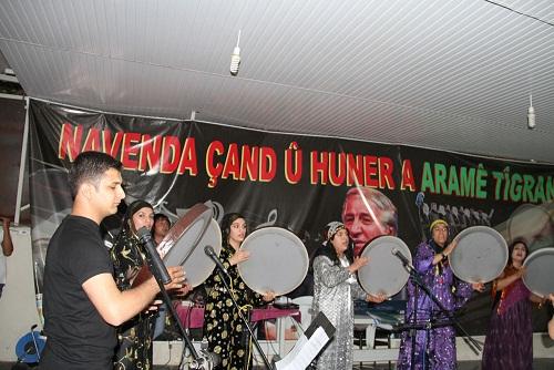 Bismil'de Kürt Dil Bayramı Konserle Kutlandı