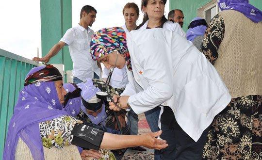 BDP'li Belediyelerden köylere sağlık atağı