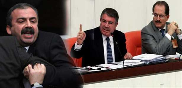 TBMM'de Süreyya Önder, Bakan Şahin gerginliği