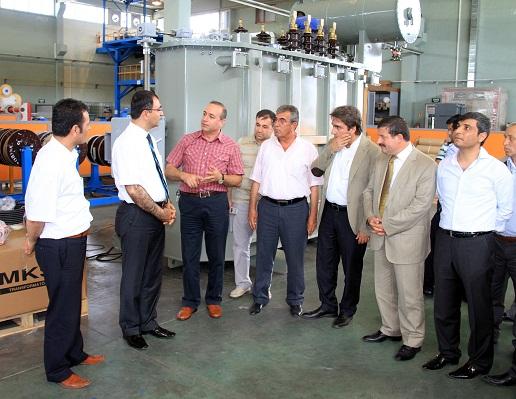Vali Mustafa Toprak, yatırımcılarla biraraya geldi