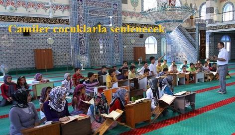 Camiler çocuklarla şenlenecek