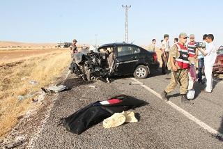 Mardin'de trafik kazası: 6 ölü, 7 yaralı