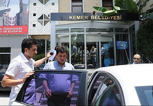 Kemer Belediye Başkanı gözaltında