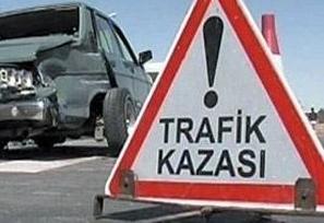 Trafik Kazasında 1 kişi yaşamını yitirdi