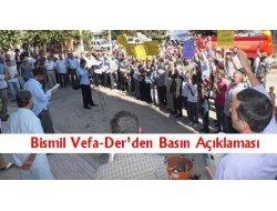 Bismil Vefa-Der Hz. Peygambere(sav) hakaret içeren filmi protesto etti