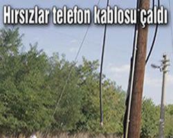 Bismil'de Kablo Hırsızlığı İddiası