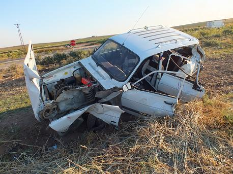 Bismil'de Hemzemin geçitte Kaza:4 yaralı