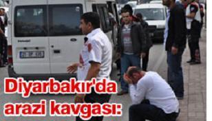 Diyarbakır'da Arazi Kavgası: 12 Yaralı