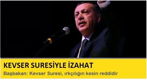 Erdoğan: Kevser Suresi ırkçılığın kesin reddidir