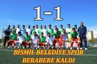 Bismil Belediye Spor Amed Spor ile oynadığı maçta berabere kaldı