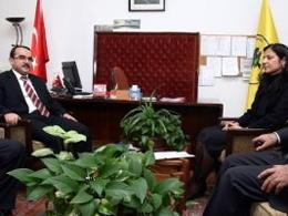 BDP'liler Adalet Bakanı ile Görüştü