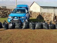 Çınar'da 135 kilo esrar ele geçirildi