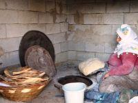 Tandır ekmeğiyle israfın önüne geçilebiliyor