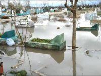 Diyarbakır'da mezarlar sular altında