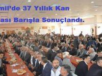 Bismil'de 37 Yıllık Kan Davası Barışla Sonuçlandı.