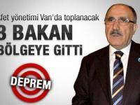 Beşir Atalay: Afet yönetimleri Van'da toplanacak
