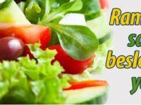 Ramazanda sağlıklı beslenmenin yolları