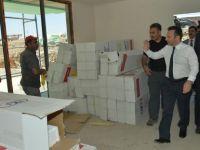 Vali Aksoy Sur mağdurlarına yapılan konutları inceledi