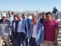 AK Parti Genel Başkan Yardımcısı Mehdi Eker  Bismil'de taziyeye katıldı.