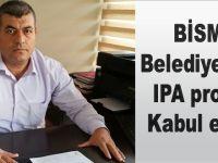 Bismil belediyesinin IPA projesi kabul edildi.