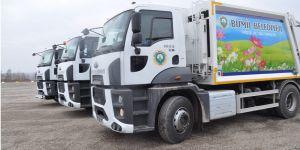Bismil Belediyesi araç parkını yeni araçlar ekledi