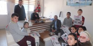 10 Ocak çalışan gazeteciler gününde anlamlı ziyaret