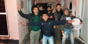 Bismil'de kutlanan Sersal (Yılbaşı) renkli görüntülere sahne oldu.