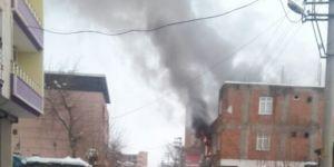 Bismil'de bir evde çıkan yangın korkuttu