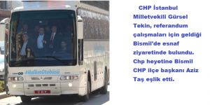 CHP'den Bismil'de Referandum Çalışması