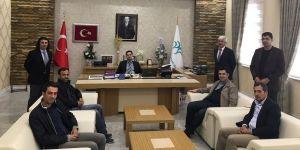 BYEGM 1. Hukuk Müşaviri Bilgin, Başkan Gülenç'e Ziyaret