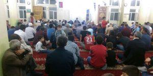 Berat Kandili, Bismil'de Dualarla İhya Edildi