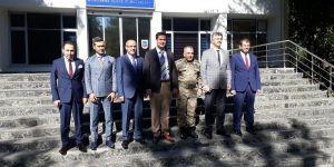 Başkan Gülenç'ten Tümgeneral Koç'a ziyaret